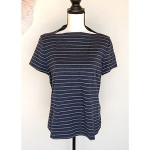 Kate Spade Saturday Boatneck Striped Shirt